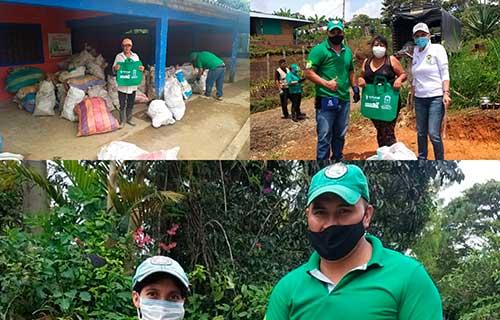 Exitosa jornada de recolección de material reciclable, iniciativa ambiental de la Alcaldía de Popayán