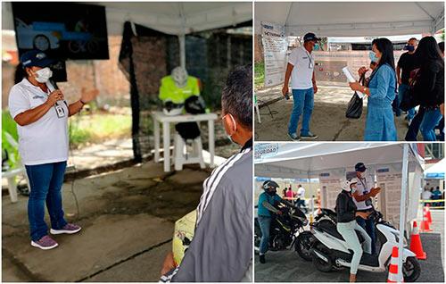 En Popayán se realizó la Ruta por la Seguridad Vial