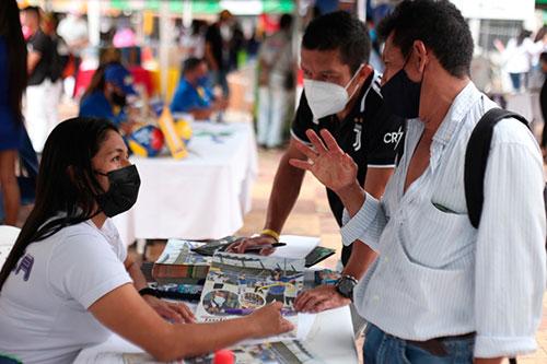 Se llevó a cabo la Feria de Trámites y Servicios en el municipio de Bolívar