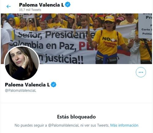¡Paloma Valencia miente otra vez!