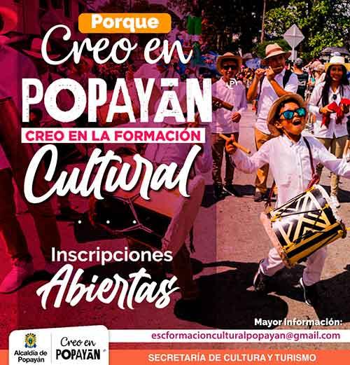 Alcaldía de Popayán inicia proceso conformación del Consejo Municipal de Cultura