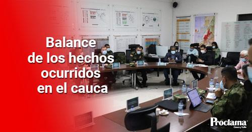 Se llevó a cabo Consejo de Seguridad en el departamento del Cauca