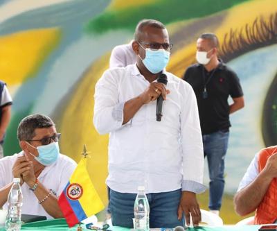 Gobernador del Cauca, Elías Larrahondo Carabalí