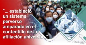 Coronavirus, paro y crisis del neoliberalismo