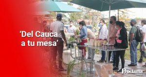 Con mercados móviles se impulsa el abastecimiento en la capital caucana