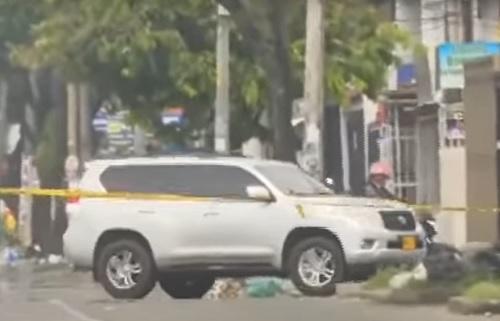 Desconocidos en camioneta reaparecieron disparando a manifestantes en Cali