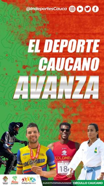 El Deporte Caucano Avanza - Indeportes Cauca
