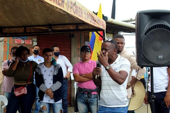 """""""El Dialogo es la única salida"""": Roller Escobar."""