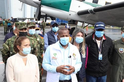 En Cauca habilitan puente aéreo y caravana humanitaria por la vida