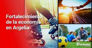 Fortalecimiento de tres clubes deportivos en Argelia