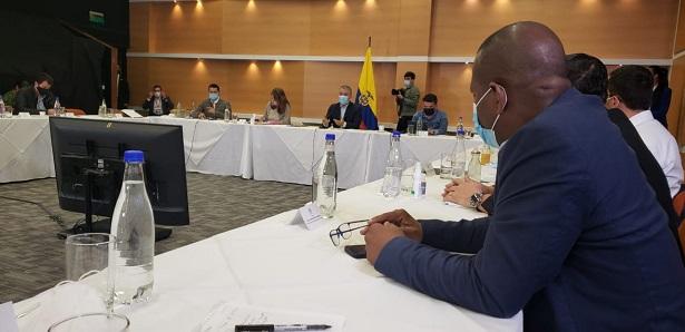 Gobernador se reúne con el presidente Duque para posibilitar diálogo nacional