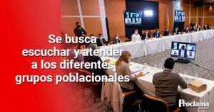 Gobernadores liderarán diálogos regionales con comunidades, jóvenes y líderes de las manifestaciones