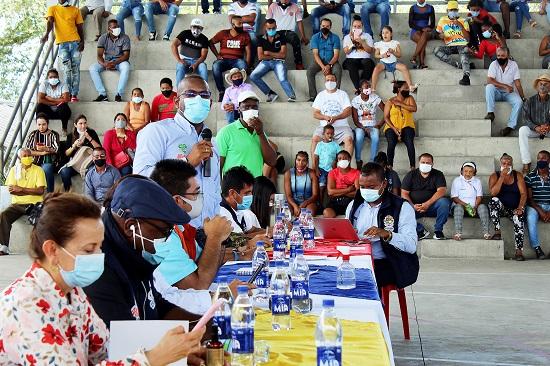 Inician diálogos en El Ortigal para levantar bloqueos