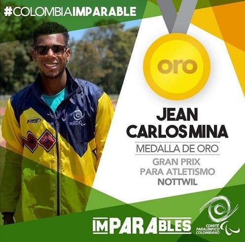Jean Carlos Mina ganó medalla de Oro en Suiza: Orgullo Caucano