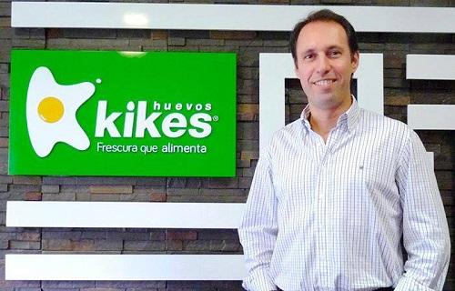 Juan Felipe Montoya, presidente de Huevos Kikes