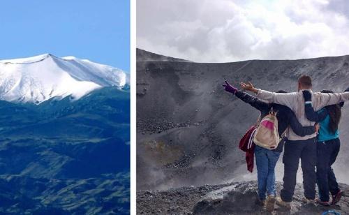 La furia del volcán Puracé