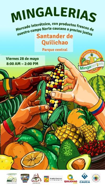 """Continúa en pie evento de Mingalerías """"Del Campo a tu Mesa"""", en Quilichao."""