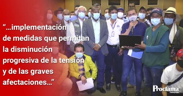 Nuevos avances en el Diálogo Regional Cauca