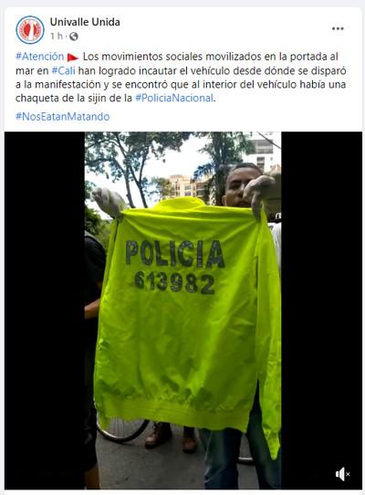 Chaqueta policial
