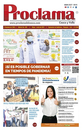 Edición No. 435 Mayo / Junio de Proclama del Cauca y Valle