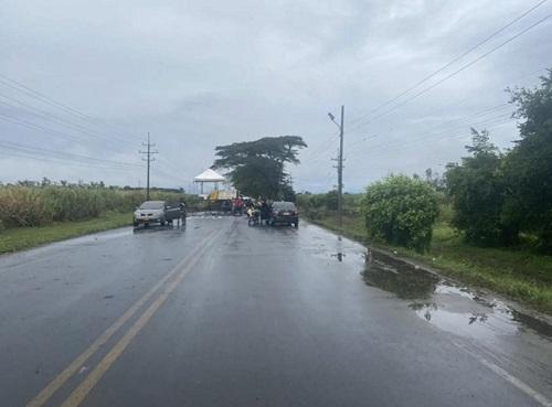 Puerto Tejada mantiene bloqueada sus vías por el Paro Nacional