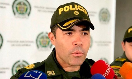 Renunció Juan Carlos Rodriguez Acosta - comandante de Policía Cali