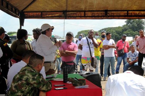 Representante de los empresarios - Zona Franca Parque Sur