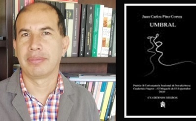 """Umbral"". De Juan Carlos Pino Correa, premio Nacional de Novela"