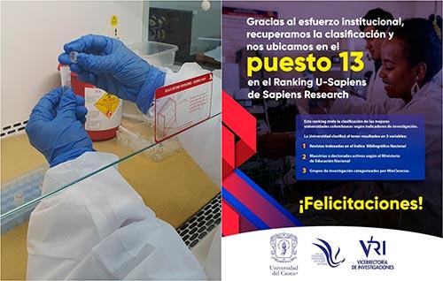 Universidad del Cauca en el puesto 13 del Ranking U-Sapiens de Sapiens Research