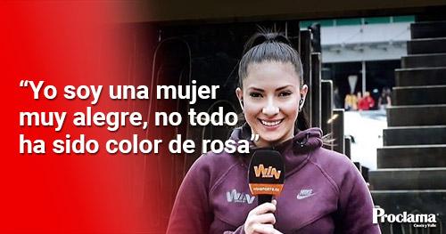 Salomé Fajardo: la nueva estrella del periodismo deportivo