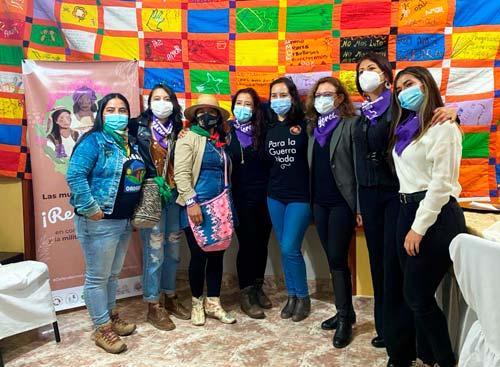 Movilización de Mujeres del Cauca