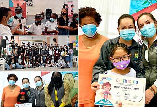 Administración Creo en Popayán realiza acciones para el desarrollo y liderazgo de niños y jóvenes de la ciudad
