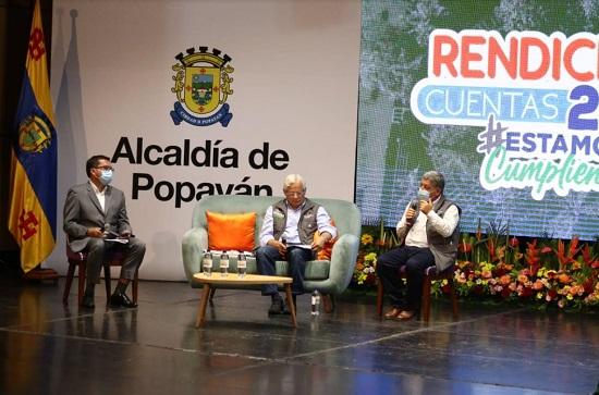 Alcaldía de Popayán rindió cuentas 2020 - Juan Carlos López Castrillón