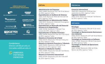 Anímate a ser Number UAN - Universidad Antonio Nariño