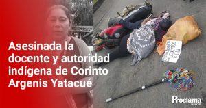 Continúa el genocidio en el norte del Cauca