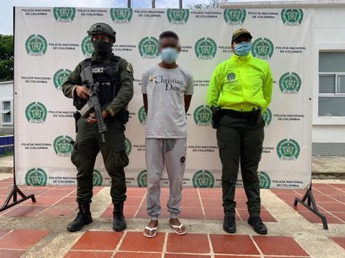 Capturan a un presunto homicida en Guachené