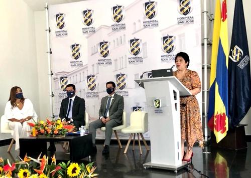 Clara Lorena Knudson Campo – Coordinadora Oficina Aseguramiento de la Calidad - Hospital San José