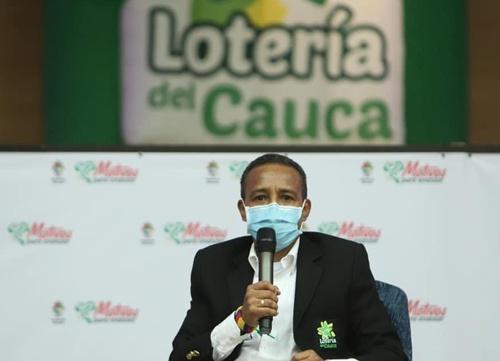Pablo Bastos, gerente Lotería del Cauca