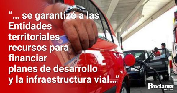Congreso aprobó sobretasa a la gasolina y ACPM