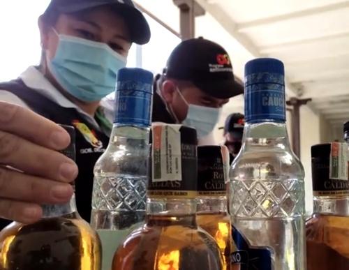 Decomisan licor adulterado en Popayán