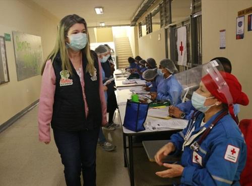 Lida Mera Paz - secretaria de Salud del Cauca.