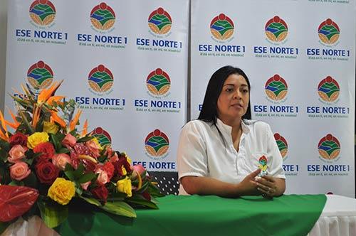 ESE Norte 1 presentó rendición de cuentas a la comunidad