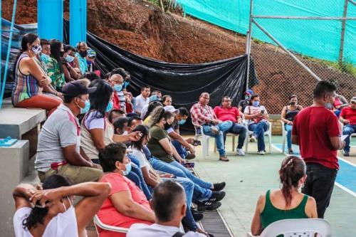 El diálogo es el camino en Santander de Quilichao.
