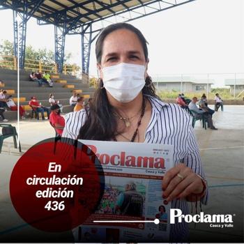 En circulación Edición #436 de Proclama Cauca y Valle