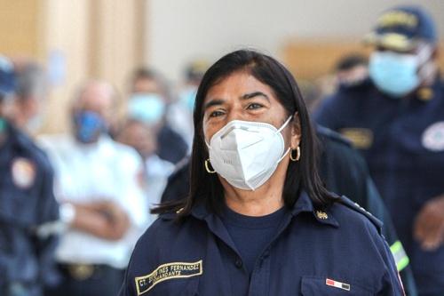 Esther Inés Fernández - Comandante Bomberos Santander de Quilichao
