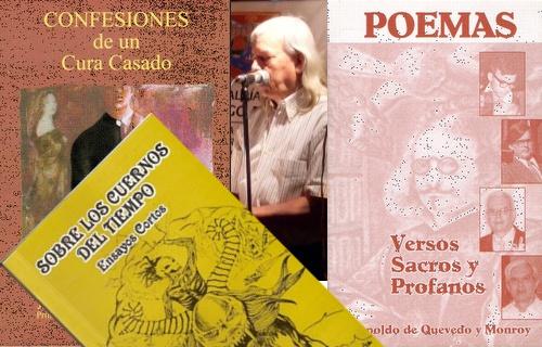 Falleció el poeta y escritor Leopoldo de Quevedo