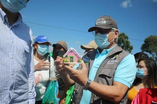 Formalizarán vivienda digna en el Ecobarrio Sinaí de Popayán