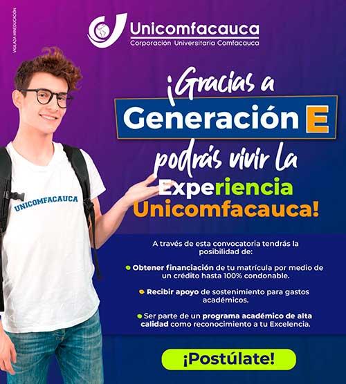 Vive la Experiencia Unicomfacauca con Generación E