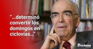 Hace 10 años falleció Augusto Ramírez