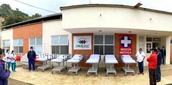 Hospitales de Toribío, Tacueyó y Jambaló recibieron dotación